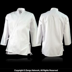 White Middleweight Karate Jacket